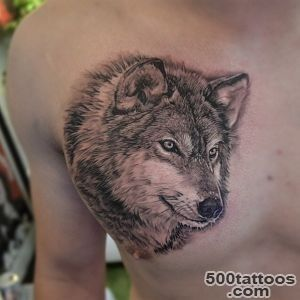 55 Wolf Tattoo Designs  Art and Design_23
