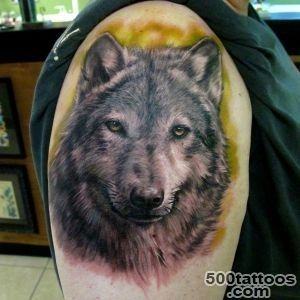 55 Wolf Tattoo Designs  Art and Design_26