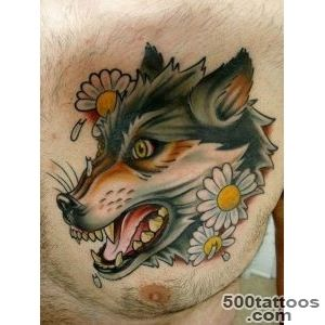 55 Wolf Tattoo Designs  Art and Design_29