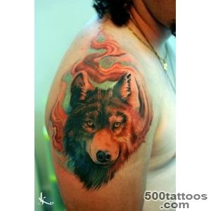 55 Wolf Tattoo Designs  Art and Design_33