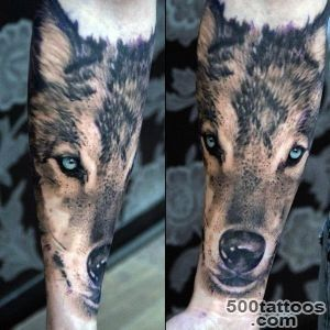 70 Wolf Tattoo Designs For Men   Masculine Idea Inspiration_14
