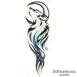 1000+ ideas about Tribal Wolf Tattoos on Pinterest  Tribal Wolf _24