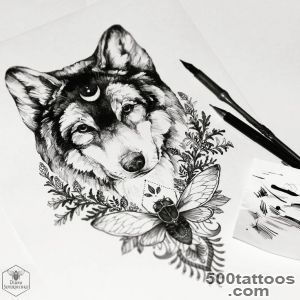1000+ ideas about Wolf Tattoos on Pinterest  Tribal Wolf, Tattoos _7