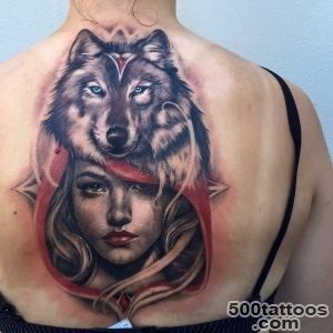 Wolf Tattoos, Designs And Ideas_35