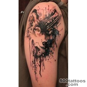 Wolf Tattoos for Men   Ideas and Inspiration for guys_41