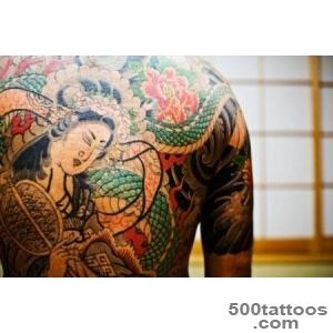 Yakuza Tattoos Japanese Gang Members wear the Culture of Crime _13