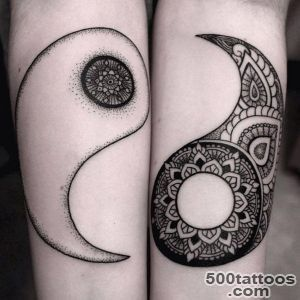 50 Mysterious Yin Yang Tattoo Designs  Art and Design_1