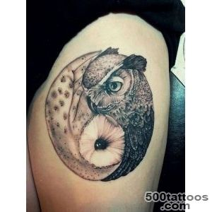 50 Mysterious Yin Yang Tattoo Designs  Art and Design_5