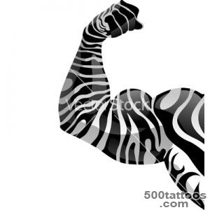 Power hand with zebra tattoo vector by Andrewshka   Image #46043 _15