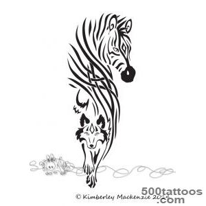 Zebra tattoo by Darkrabbitdesigns on DeviantArt_3