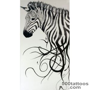 Zebra Tattoo Ideas on Pinterest_8