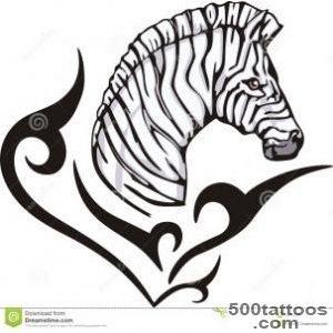 Zebra Tattoo Royalty Free Stock Photo   Image 26259965_36